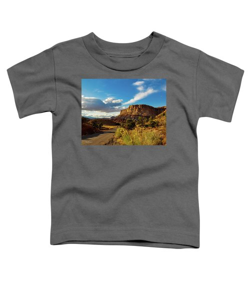 Sunset At Capitol Reef Toddler T-Shirt