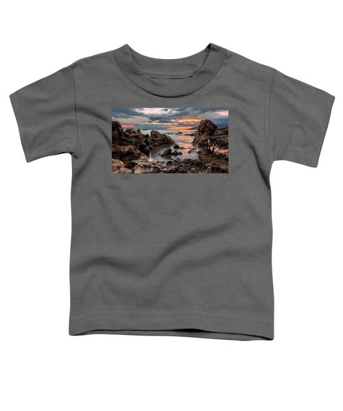 Sunset At Charley Young Beach Toddler T-Shirt