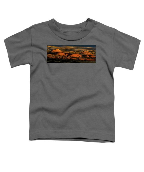 Sunset At Donkey Flats Toddler T-Shirt