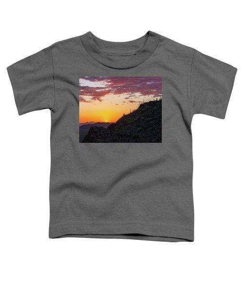 Sunset At Gate's Pass Toddler T-Shirt