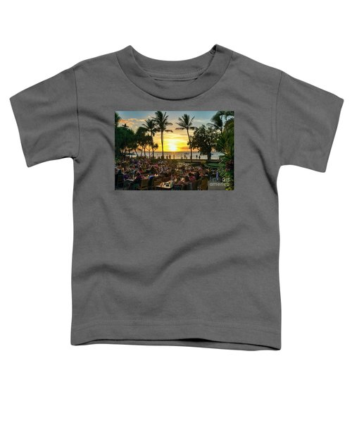 Sunset At Old Lahaina Luau #1 Toddler T-Shirt