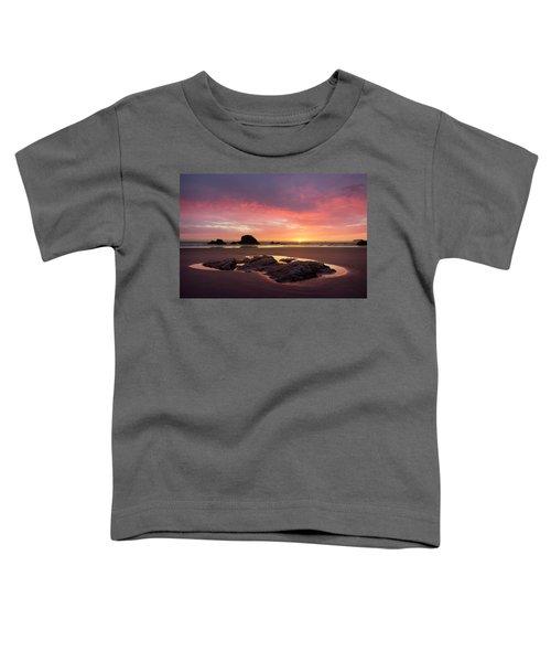 Sunset At Ruby Beach Toddler T-Shirt