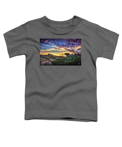 Sunset At Sage Ranch Toddler T-Shirt