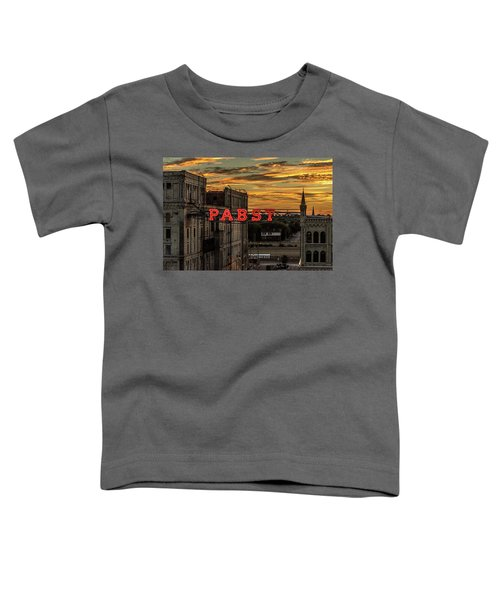 Sunset At The Brewery Toddler T-Shirt