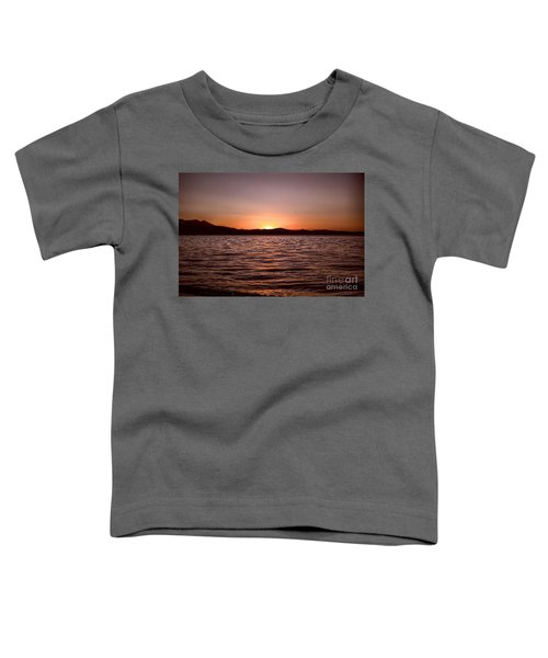 Sunset At The Lake 2 Toddler T-Shirt