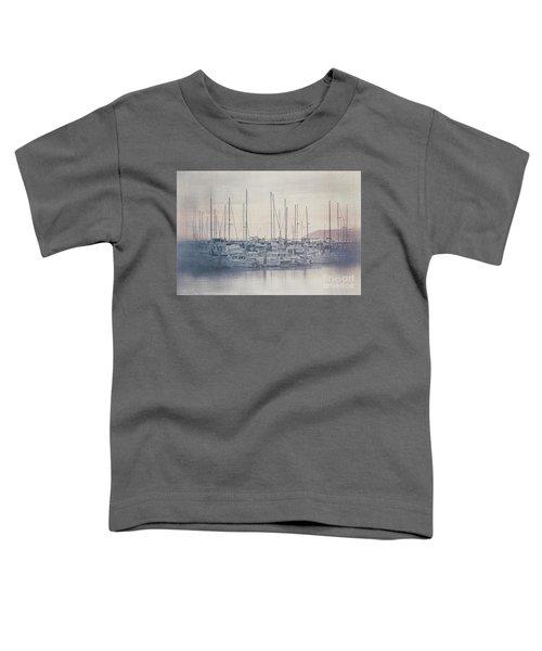 Sunset At The Marina Toddler T-Shirt