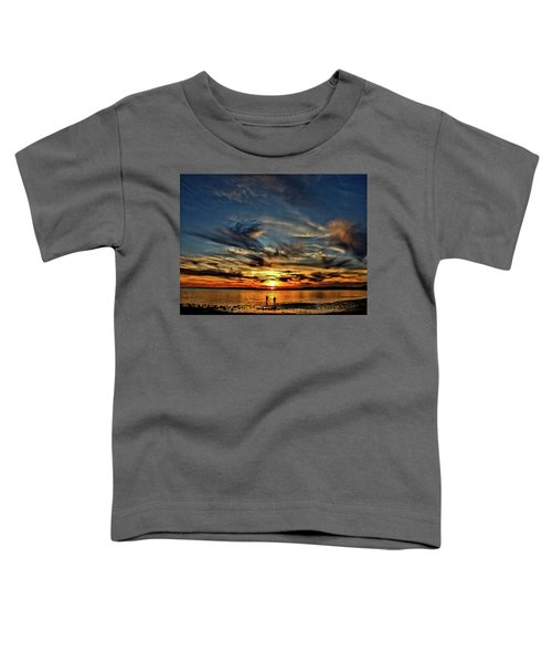 Sunset At The Waters Edge Toddler T-Shirt
