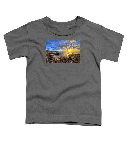 Sunset Cliffs Toddler T-Shirt