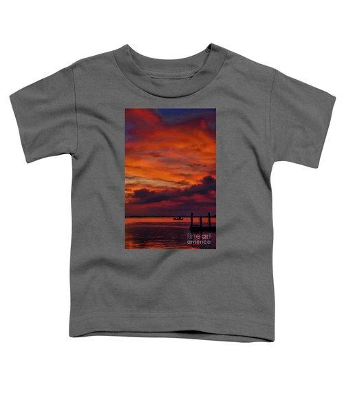 Sunset Cruise  Toddler T-Shirt