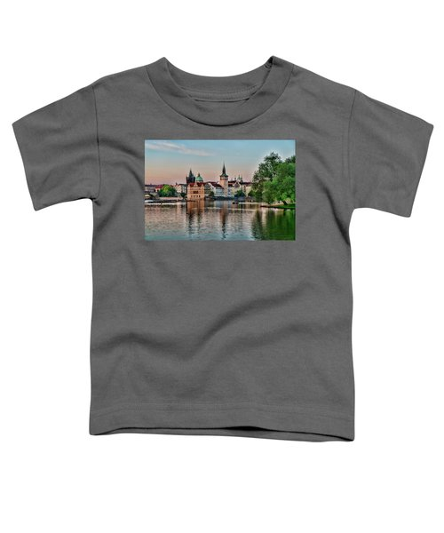 Sunset Cruise Prague Toddler T-Shirt