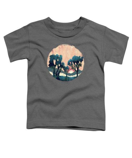 Sunset Desert Canyon Toddler T-Shirt