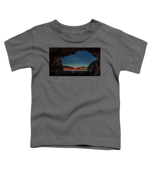 Sunset From Brady's Cave Toddler T-Shirt