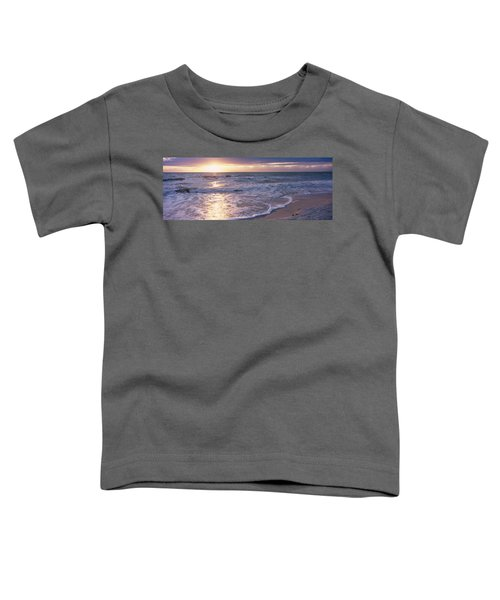 Sunset, Gulf Of Mexico, Florida, Usa Toddler T-Shirt
