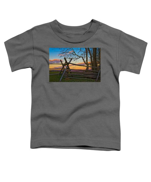 Sunset In Antietam Toddler T-Shirt