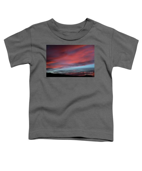 Sunset In Capital Reef  Toddler T-Shirt