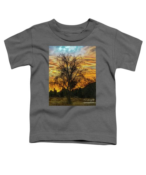 Sunset In Perris Toddler T-Shirt