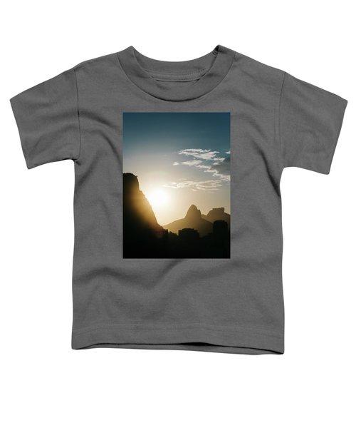 Sunset In Rio De Janeiro, Brazil Toddler T-Shirt
