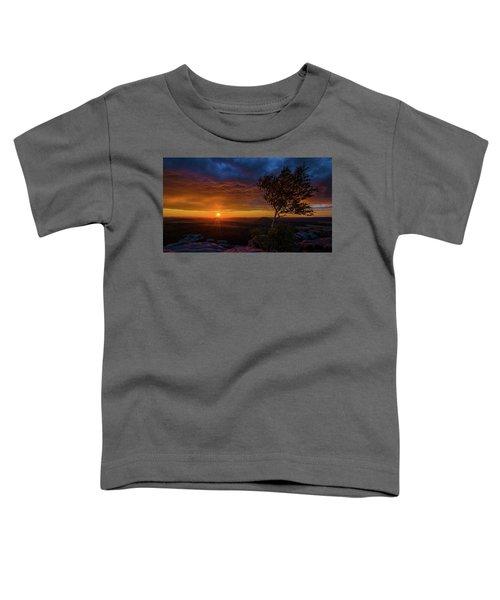 Sunset In Saxonian Switzerland Toddler T-Shirt