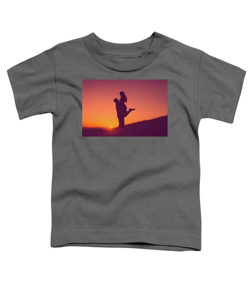 Sunset Love Toddler T-Shirt