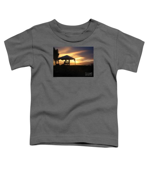 Sunset Massage Toddler T-Shirt