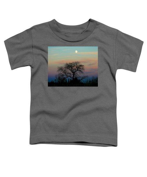 Sunset Moon Toddler T-Shirt