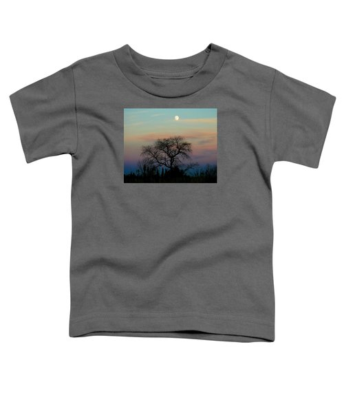 Sunset Moon Toddler T-Shirt
