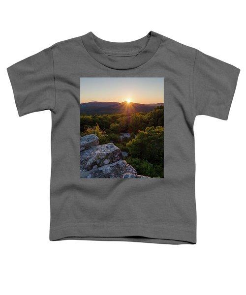 Sunset, Mt. Battie, Camden, Maine 33788-33791 Toddler T-Shirt