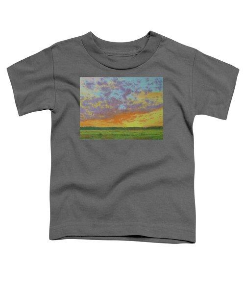 Sunset Near Miles City Toddler T-Shirt
