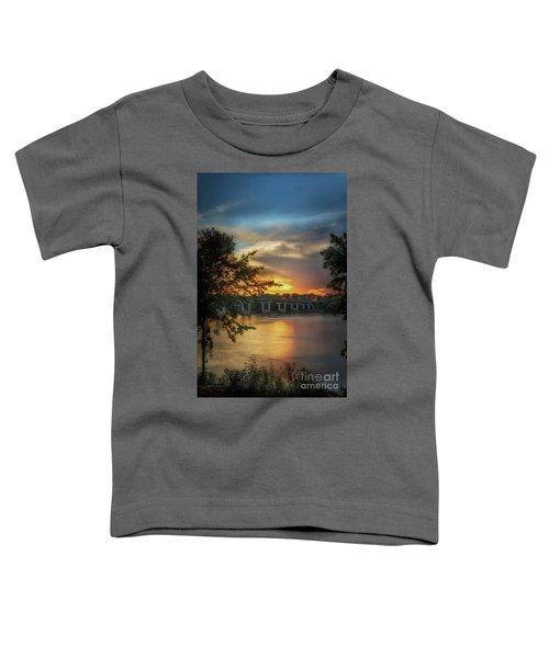Sunset On The Arkansas Toddler T-Shirt