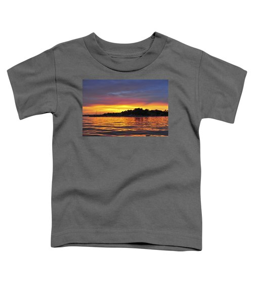 Sunset On The Bay Island Heights Nj Toddler T-Shirt