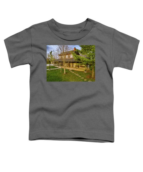 Sunset On The Cabin Toddler T-Shirt