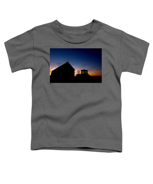 Sunset On The Farm Toddler T-Shirt