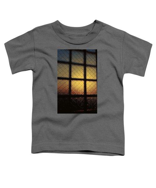 Sunset Orange Toddler T-Shirt