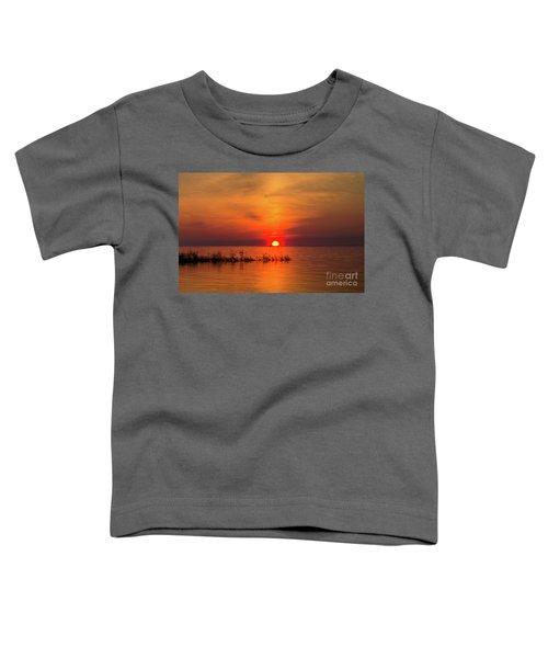 Sunset Over Lake Michigan Toddler T-Shirt