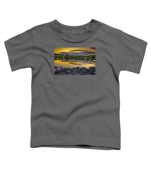 Sunset Over The Bridge Toddler T-Shirt