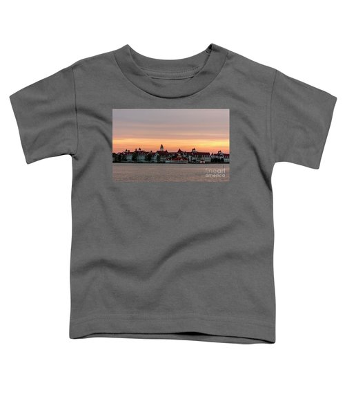 Sunset Over The Grand Floridian Toddler T-Shirt