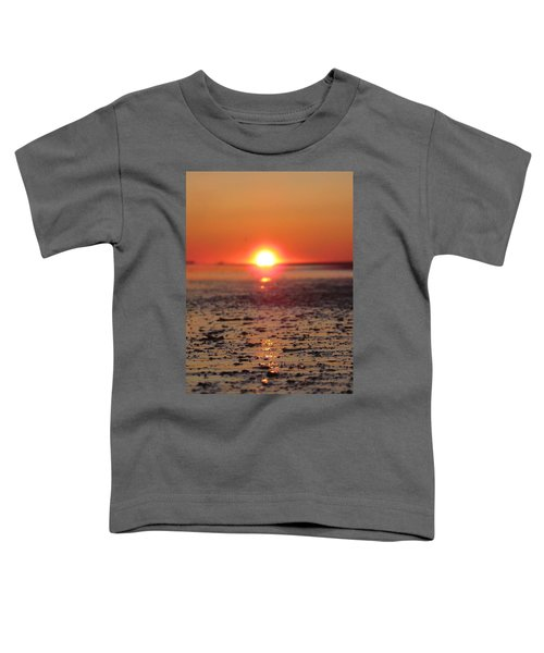Sunset Over The Sea Toddler T-Shirt