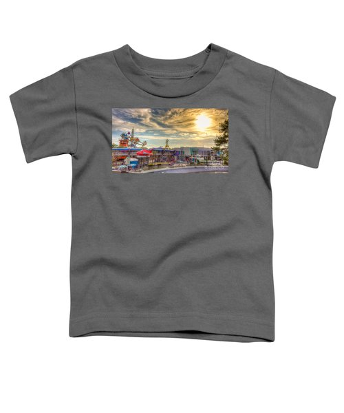 Sunset Over Tomorrowland Toddler T-Shirt