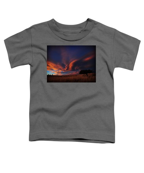 Sunset Plains Toddler T-Shirt