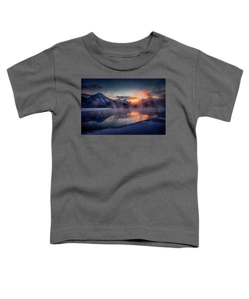 Sunset, Vermilion Lakes Toddler T-Shirt