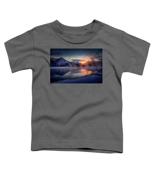 Sunset, Vermilion Lakes Toddler T-Shirt