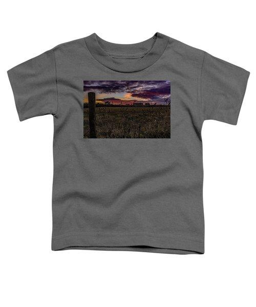 Sunset View  Toddler T-Shirt
