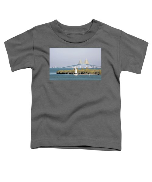Sunshine Skyway Bridge Toddler T-Shirt