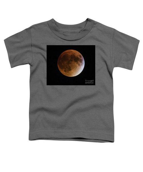Super Blood Moon Lunar Eclipses Toddler T-Shirt