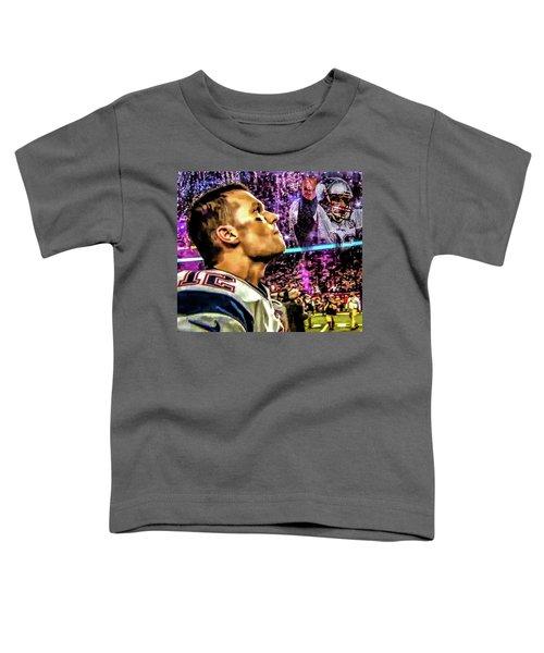 Super Bowl 53 - Tom Brady Toddler T-Shirt