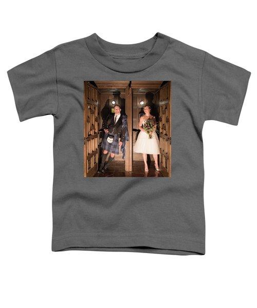 Super Hero Wedding Pose Toddler T-Shirt