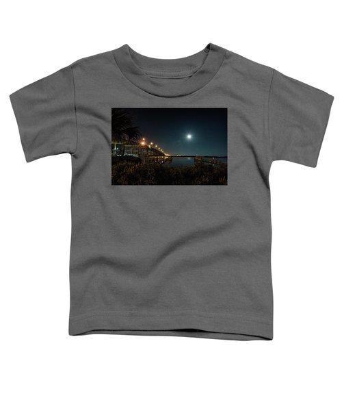 Super Moon And Bridge Lights Toddler T-Shirt