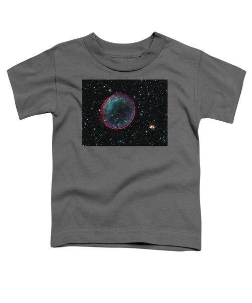 Supernova Bubble Resembles Holiday Ornament Toddler T-Shirt