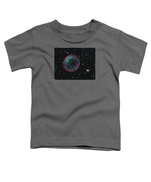 Supernova Bubble Resembles Holiday Ornament Toddler T-Shirt