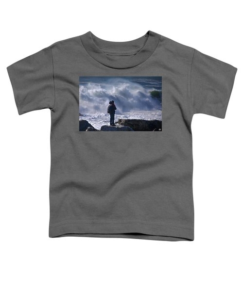 Surf Watcher Toddler T-Shirt
